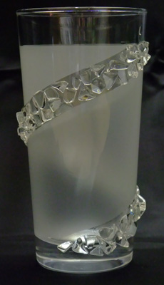 デコグラス 水晶チップの貼り付け形状を変えることも出来ます